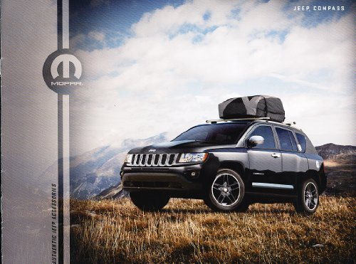2012 2011 Jeep Compass Mopar Accessories Original Sales Brochure Catalog
