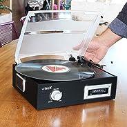Vintage K7 Vitrola Toca Discos e Fita Cassete