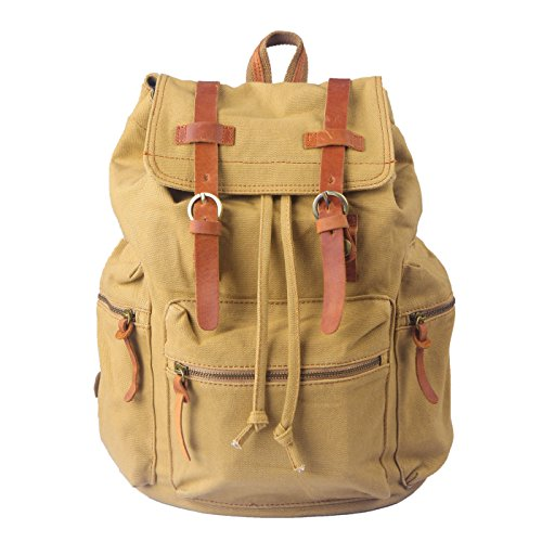 HDE Vintage Military Backpack Outdoors