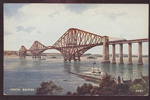 - Forth Bridge England British Edinburgh Fife United Kingdom Ferry Postcard