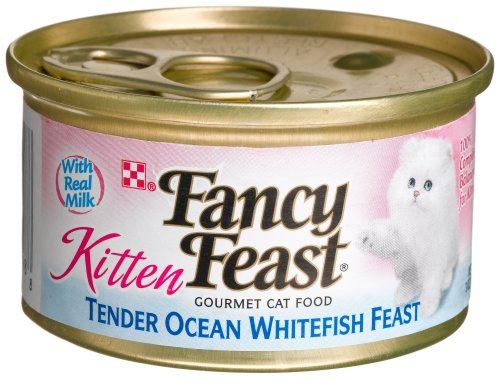 Purina Fancy Feast Tender Ocean Whitefish Wet Kitten Food