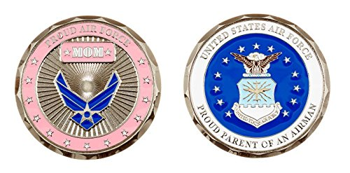 Proud Air Force Mom Coin