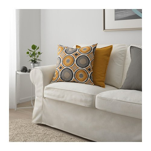 Amazon.com: IKEA Murbinka Cushion Cover Multicolor 203.957 ...