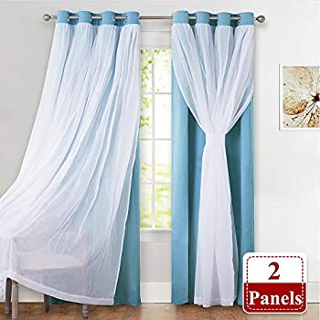 Amazon Com Lush Decor Circle Dream Window Curtains Panel
