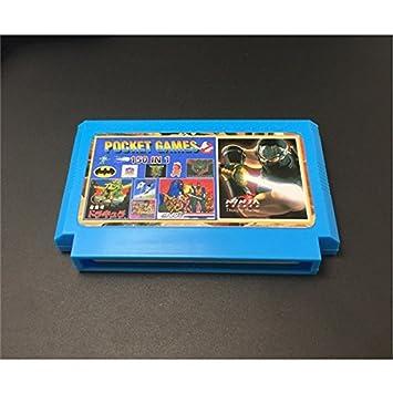 Yongse Retro juego cartucho de 8 bits 150 en 1 con el juego ...