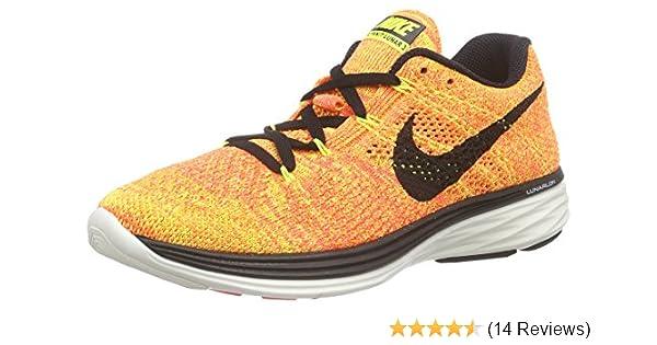 07088f77a2 Amazon.com  Nike Women s Flyknit Lunar3 Running Shoe  Nike  Shoes