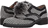 Sam Edelman Women's Dahl Oxford, Black/White Houndstooth, 8 Medium US