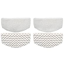 EcoMaid 4 Pack PowerFresh Microfiber Steam Mop Pads Replacement for Bissell Powerfresh Hard Floor Steam Cleaner 1940 1440 1806 Series Steam Mop Compare to Part # 5938 & 203-2633