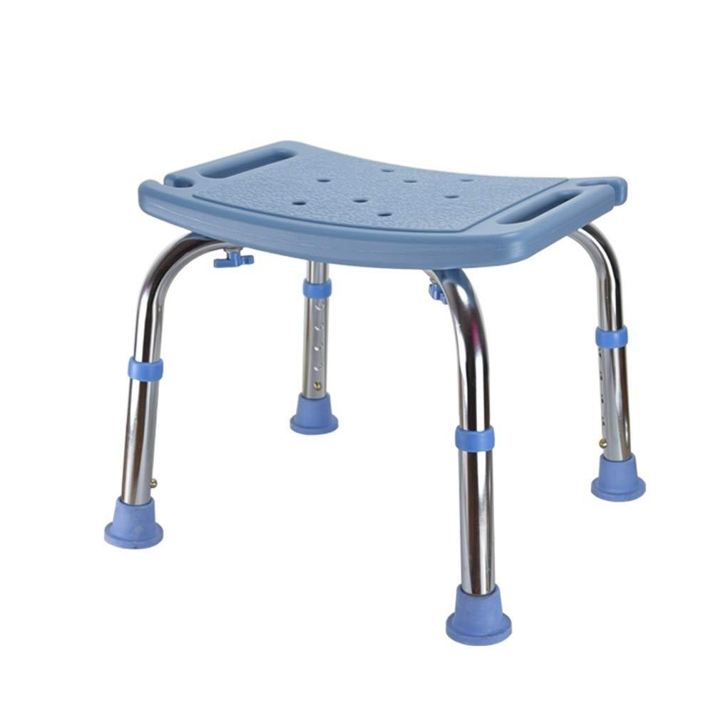 DUXX 浴室スツール、滑り止めの浴室の椅子の家の浴室の椅子を厚くするプラスチックスツール トイレチェア (色 : B)  B B07R76HMLC