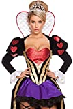IF FEEL Womens Halloween Costume Party Queen Princess Role Play Costume Sets