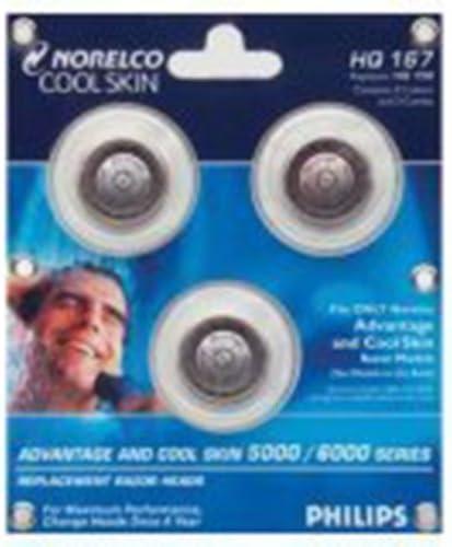 Philips HQ167 Norelco Philishave Coolskin Afeitadora cabezales de ...