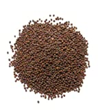 Brown Mustard Seed, Whole - 1/2 Pound ( 8 ounces ) - North American Harvested Brown Mustard Spice by Denver Spice