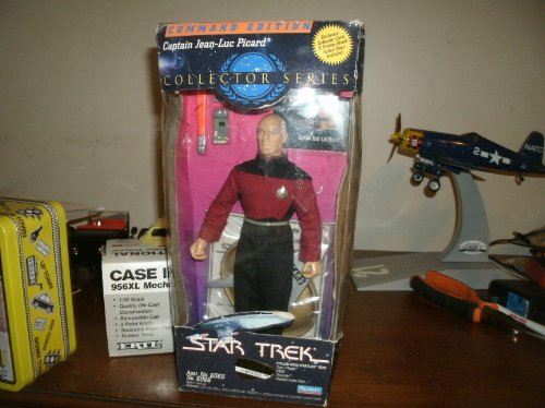 (Star Trek Command Edition Captain Jean-Luc Picard Collector Series Action Figure Doll)