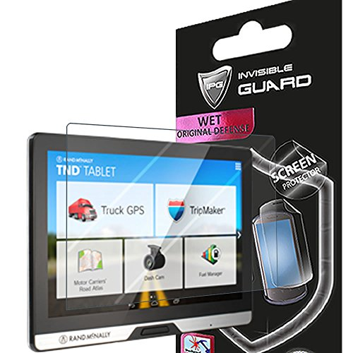 "For Rand McNally TND 80 ( 8"" dashboard tablet ) Screen Protector Film with Lifetime Replacement Warranty Invisible Protective Screen Guard - HD Quality / Self-Healing / Bubble -Free By IPG"