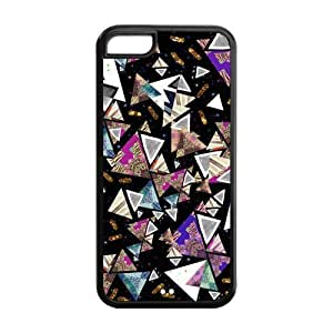 5C Phone Cases, Diamond Hard TPU Rubber Cover Case for iPhone 5C