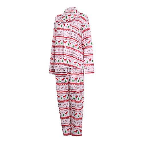 MASS21 Christmas Pajamas Sleeve Sleepwear