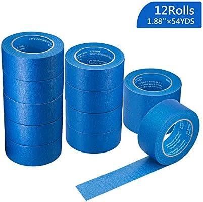 Pro Grade Blue Painters Tape Medium Adhesive That Sticks