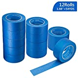 KIWIHUB Pro-Grade Blue Painters Tape, Medium