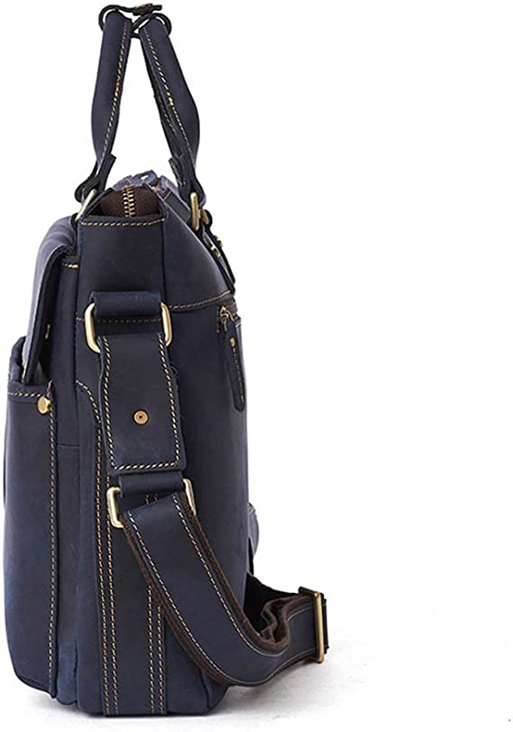 RUNWEI Men and Women Casual Bag Office Work Bag Shoulder Messenger Bag Travel Computer Bag