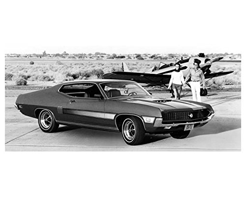 1970 Ford Torino GT Automobile Photo Poster from AutoLit