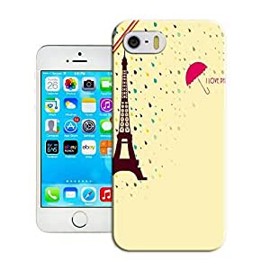 An Eiffel Tower and an red umbrella in the Rain best durable iphone 6 4.7(inch) case sale by TEnhuama Store