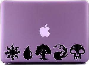 Magic The Gathering Mana Black SCI-FI/Comics/Games Laptop Skin Decal