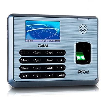 Amazon com: Ciecoo ZK TX628 TCP/IP fingerprint time attendance