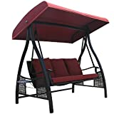 Abba Patio 3 Person Outdoor Metal Gazebo Padded