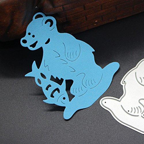 SCASTOE Number Cutting Dies Stencil Scrapbook Album Paper Card Embossing DIY Craft Tool Paper & Paper Crafts Paper & Paper Crafts