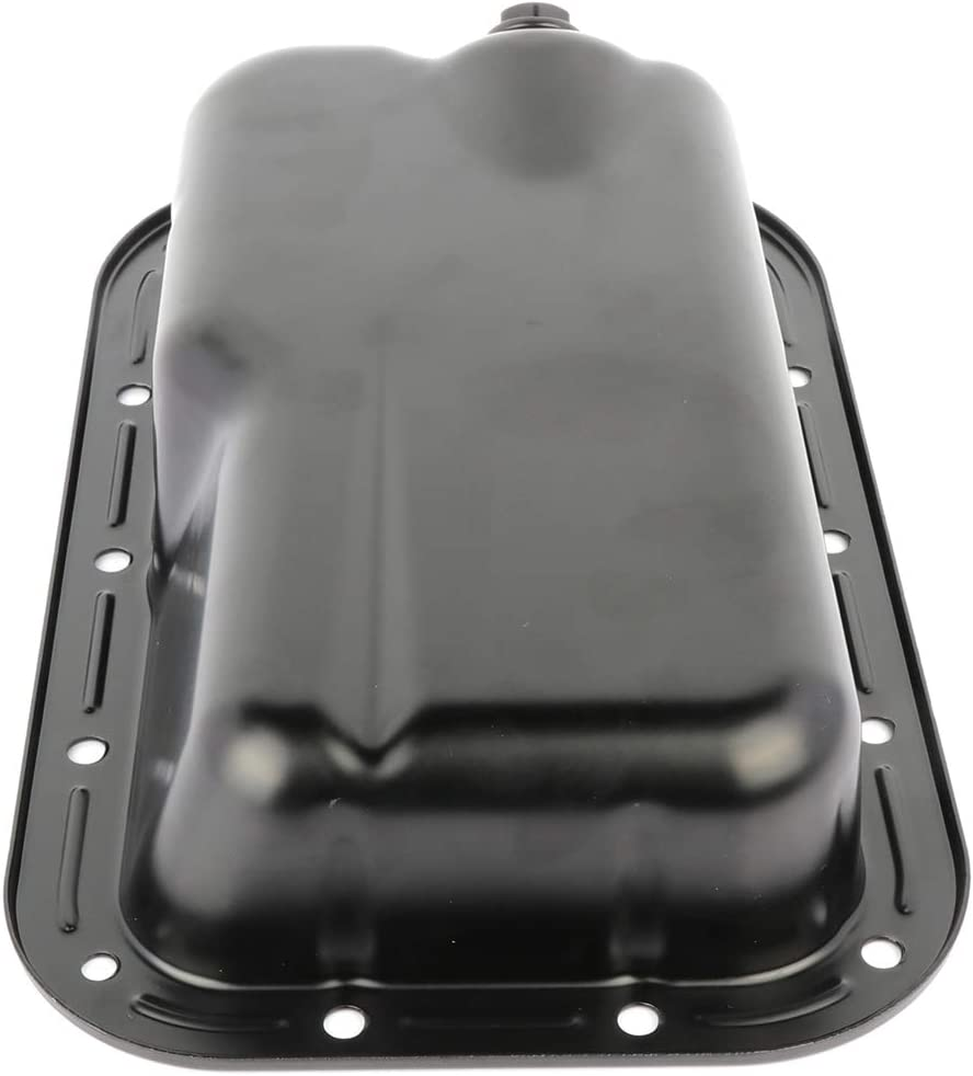 LSAILON Engine Oil Pan fit for Chrysler 300 Dodge Challenger Charger Jeep Wrangler 3.6L 11-16 Oil Drain Pan with OE 5184546AC 103410 CRP50A 5184546AA 5184546AB Oil Change Pan