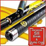 KAKALIN BK3 Pool Punch & Jump Cue 13mm Tip Billiard Stick Jump Cues Sport Handle 147cm