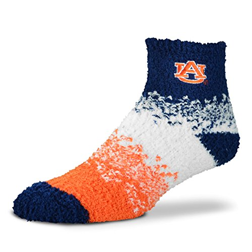 For Bare Feet Ncaa Marquee Sleep Soft Socks One Size Fits Most Auburn Tigers