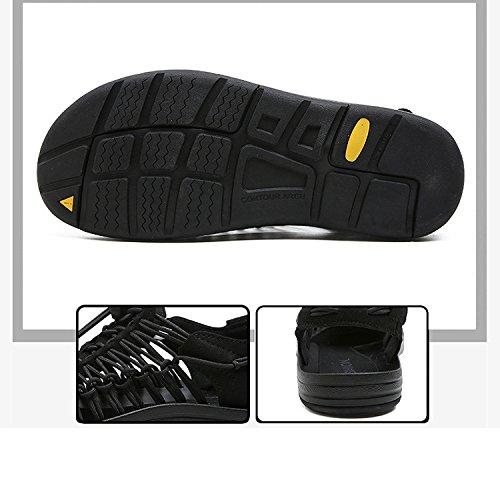 Ocasionales De Sandalias YXLONG Verano Playa Transpirables Los blue Luo A La 2018 Zapatos Zapatos De Mano Hombres De Simples Marea Nuevo Tejidas Personalidad w116qr