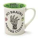zombie coffee mug - Enesco 6001243 Our Name is Mud No Brains Before Coffee Zombie Stoneware Mug, 16 oz, Multicolor