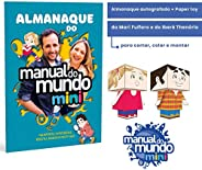 Almanaque Do Manual Do Mundo Mini + Almanaque Autografado + Paper Toy