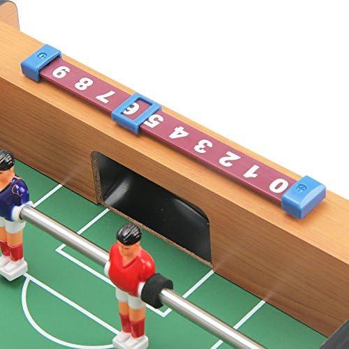 20 inch mini futbolín con patas, mesa de juego de mesa para niños de fútbol, para principiantes a jugadores de nivel intermedio, elegante y diseño contemporáneo, por keess juguetes: Amazon.es: Deportes y