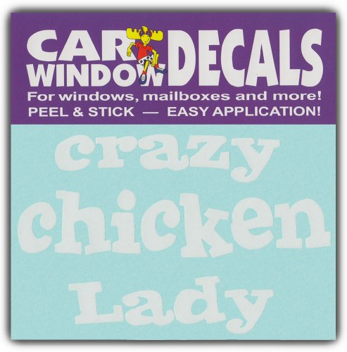 Car Window Decals CHICKEN Stickers product image