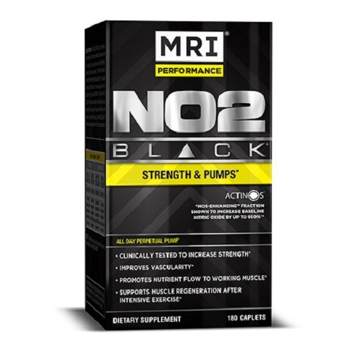 M.R.I. NO2 Black, 180-cap Bottle by MRI