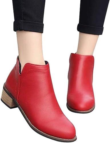 2018 Scarpe Donna Stivali Stivali alla caviglia Tacco spesso