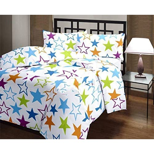Nice LABNO New Stars printed Single Micro-Micro-cottonDohar Reversible/Bothside printed Dohar/AC Blanket/Quilt for sale