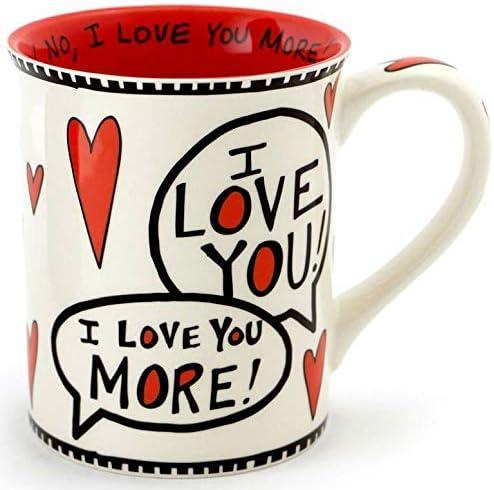 Enesco 4056352 Love Most Stoneware