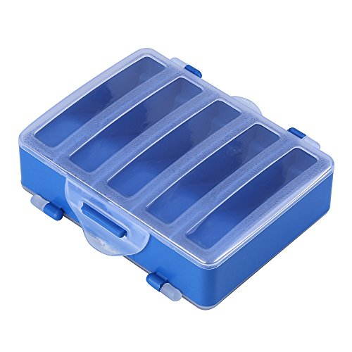 10 Grid Tackle Box & Bait Case, Fisher Gear | Storage Box Containe Organizer Case for Fishing Lure Hook Tackle, Plastic, Waterproof - Fishing Accessories by DICPOLIA Fishing Gears (Image #1)