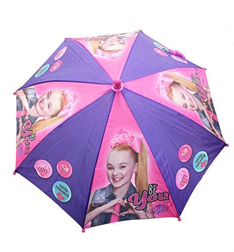 Collection Umbrella (Little Girl's JoJo Siwa Collection Accessory, purple umbrella, One-Size)