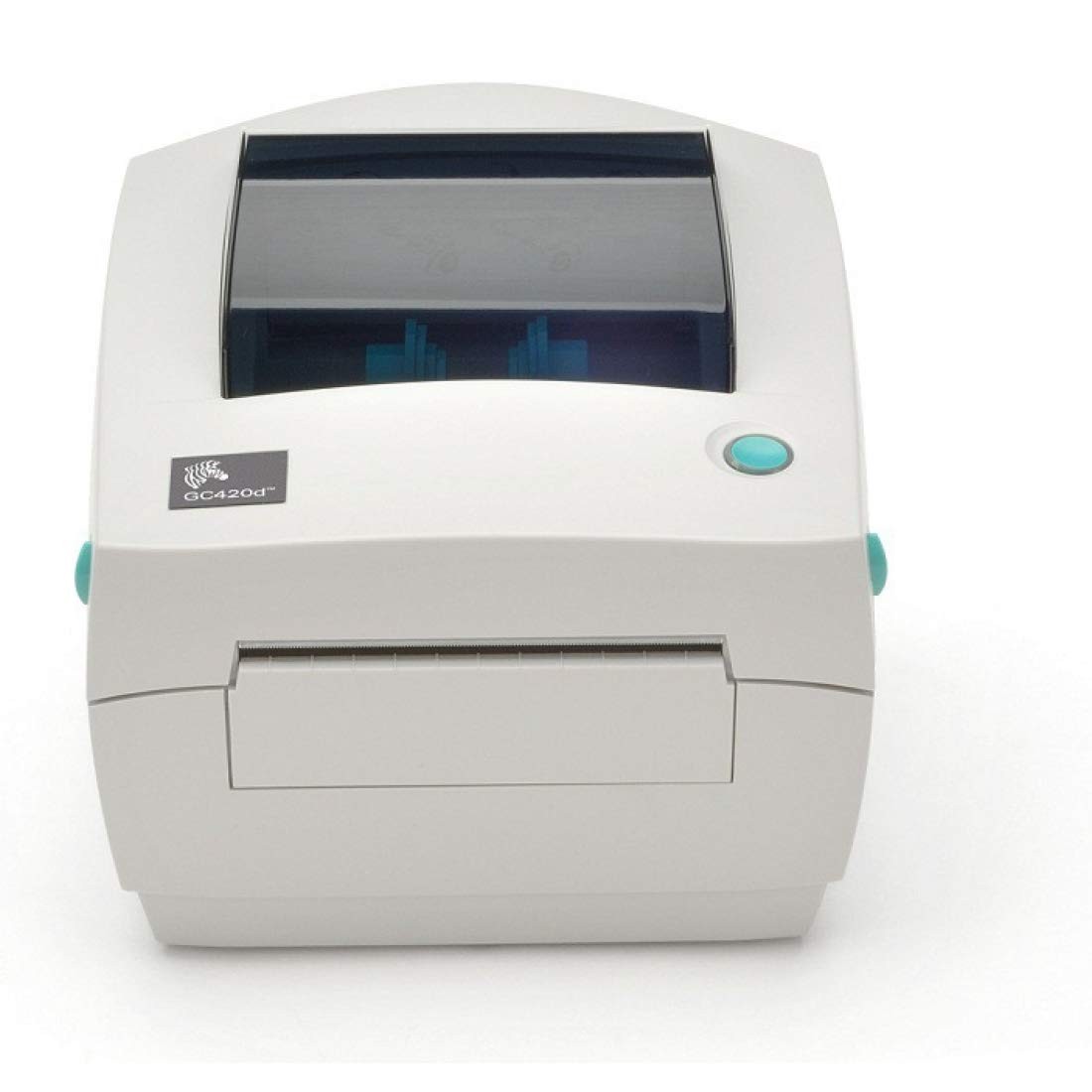 Zebra GC420D Direct Thermal USB Serial Label Printer (GC420-200510-000) (Renewed) by ZEBRA (Image #1)
