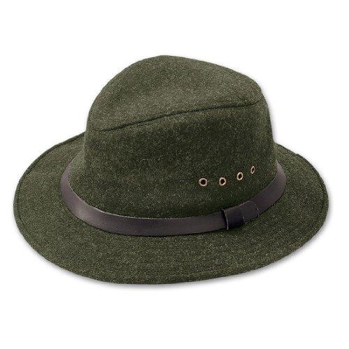 Filson Unisex Wool Packer Hat Forest Green Hat