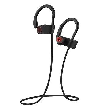 GIM Bluetooth Auriculares Deportivos 4.1 Auriculares in Ear Stereo ...