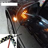 Car-styling Turning Signal Indicator Light For Bm e46 e39 e60 e90 focu 2 3 h7 led Volk Pass b5 b6 golf 4 vw