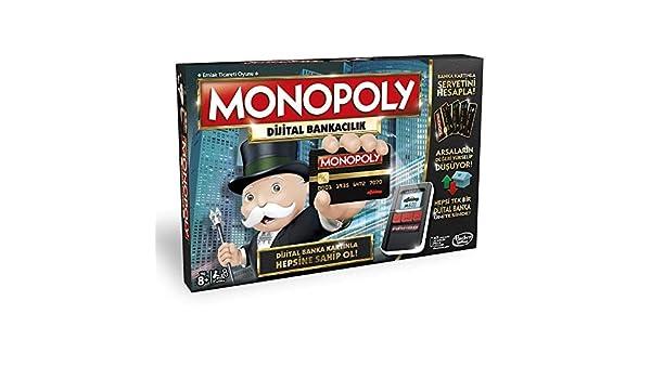 Monopoly Dijital Bankacılık (B6677): Hasbro: Amazon.es: Juguetes y juegos