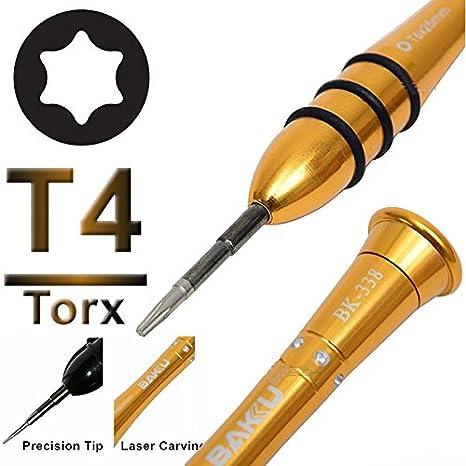 sparfix® - Destornillador de precisión herramientas Torx Torx T4 ...