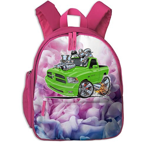 (Eowlte Dodge Ram Sublime Truck Children's Bags Pink One Size)
